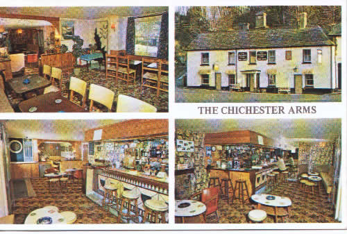 Chichester Arms interior